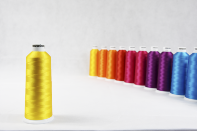 Rayon viscose embroidery thread